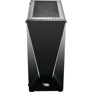iBUYPOWER Trace 053i Pro Gaming PC Computer Desktop Intel i9-9900k 3.6 GHz, Geforce RTX 2080 8GB, 16GB DDR4, 1TB HDD, 240GB SSD, Z370, Liquid Cooling, WiFi Ready, Win 10, Trace 053i, Black