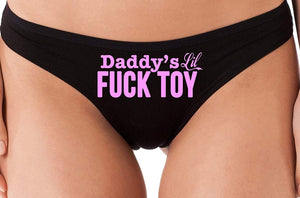 Knaughty Knickers Daddys Little Lil Fuck Toy Fucktoy DDLG BDSM Owned Slut Thong