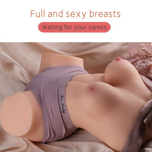 Full Size Female Torso Premium Toys Super Soft for Men Caressing