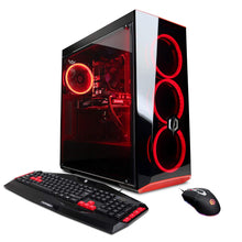 Load image into Gallery viewer, CYBERPOWERPC Gamer Xtreme VR GXiVR8020A6 Gaming PC (Intel Core i5-9400F 2.9GHz, 8GB DDR4, AMD Radeon RX 580 4GB, 1TB HDD, 802.11AC WiFi, Win10 Home) Black