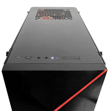 Load image into Gallery viewer, iBuyPower Pro Gaming PC Computer Desktop AMD Ryzen 7 2700X 3.7GHz, NVIDIA GeForce RTX 2070 8GB, 16GB DDR4 RAM, 1TB HDD, 240GB SSD, WiFi Ready, Win 10 Home, VR Ready (Slate 055A)