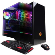 Load image into Gallery viewer, CYBERPOWERPC Gamer Master GMA1392A2 Gaming PC (AMD Ryzen 7 2700 3.2GHz, 8GB DDR4, NVIDIA GeForce GT 1030 2GB, 1TB HDD, WiFi, Win10 Home) Black