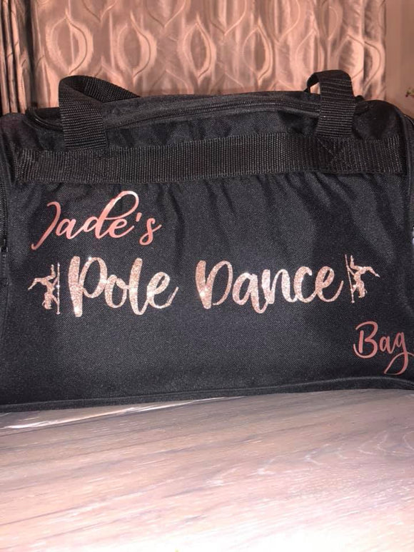 Personalised Pole Dance Bag