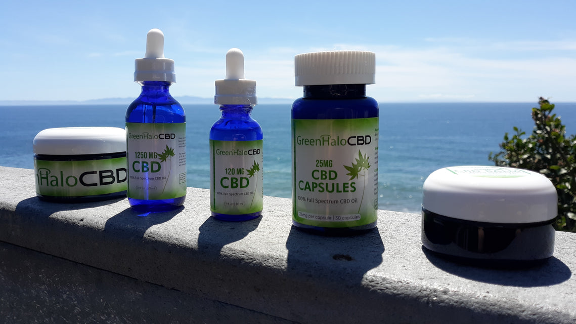 Green Halo CBD products