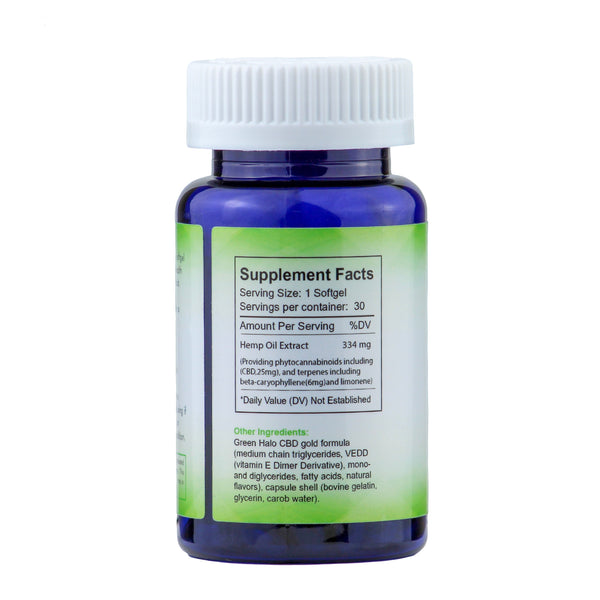 CBD Oil Capsules 30ct