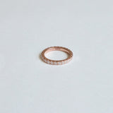 Eternity Pinkie Ring Rose Gold