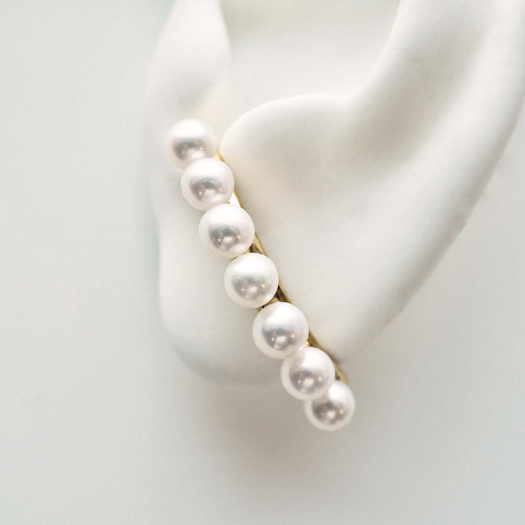 THE CUFF STUDS - WITH 7 PEARLS