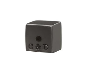 RECTANGLE STUDS - BLACK