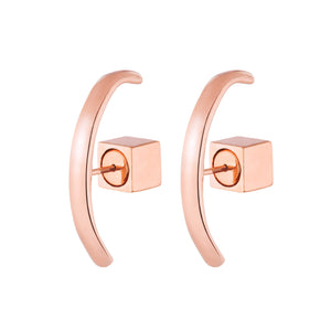 THE CUFF STUDS - ROSE GOLD