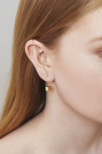 EAR PIN - YELLOW GOLD
