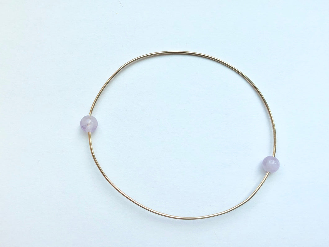 RESORT WIRE BRACELET - PURPLE