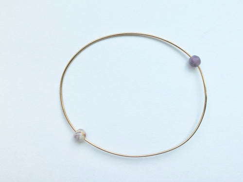 RESORT WIRE BRACELET - MARBLE