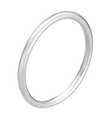 PINKIE RING - WHITE GOLD