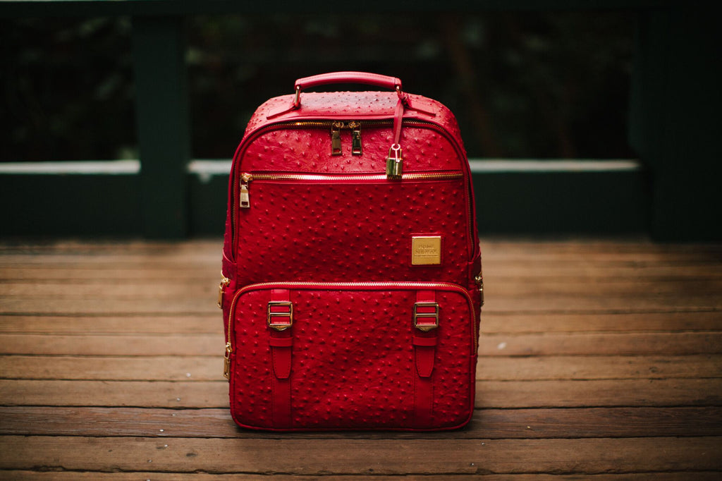 The Crown Collection (Medium) Red Backpack