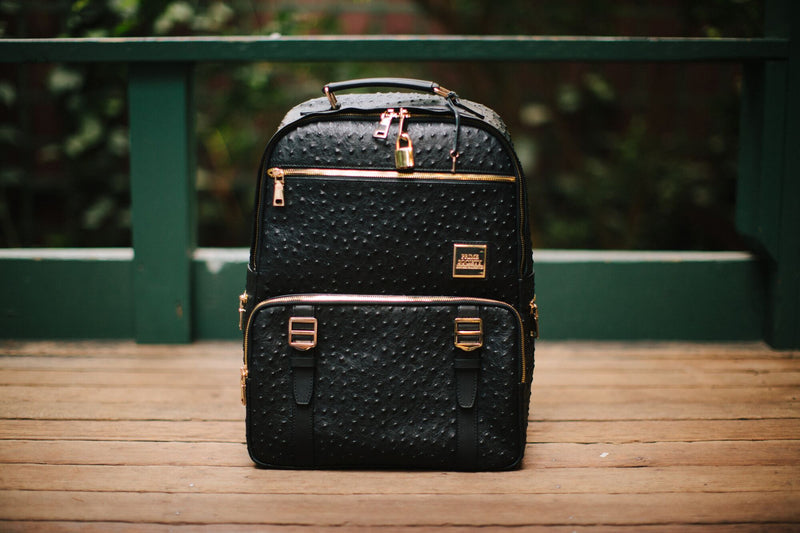 The Crown Collection (Medium) Truffle Backpack