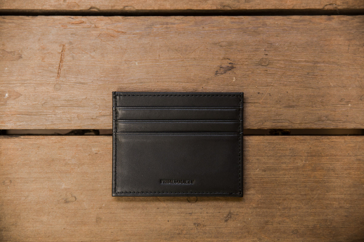 The Crown Collection Black Card Holder