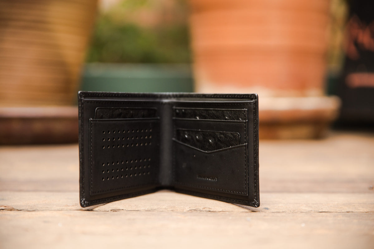 The Crown Collection Executive Black Wallet