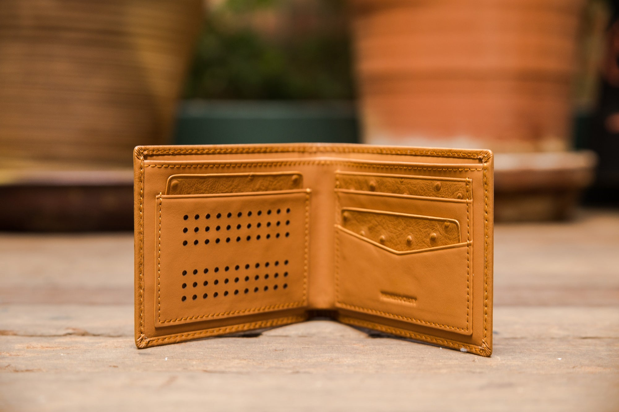 The Crown Collection Executive Truffle Wallet