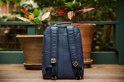 The Crown Collection (Large) Navy Backpack