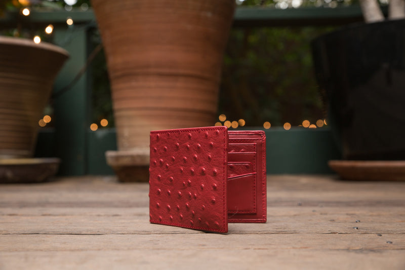 The Crown Collection Executive Red Wallet