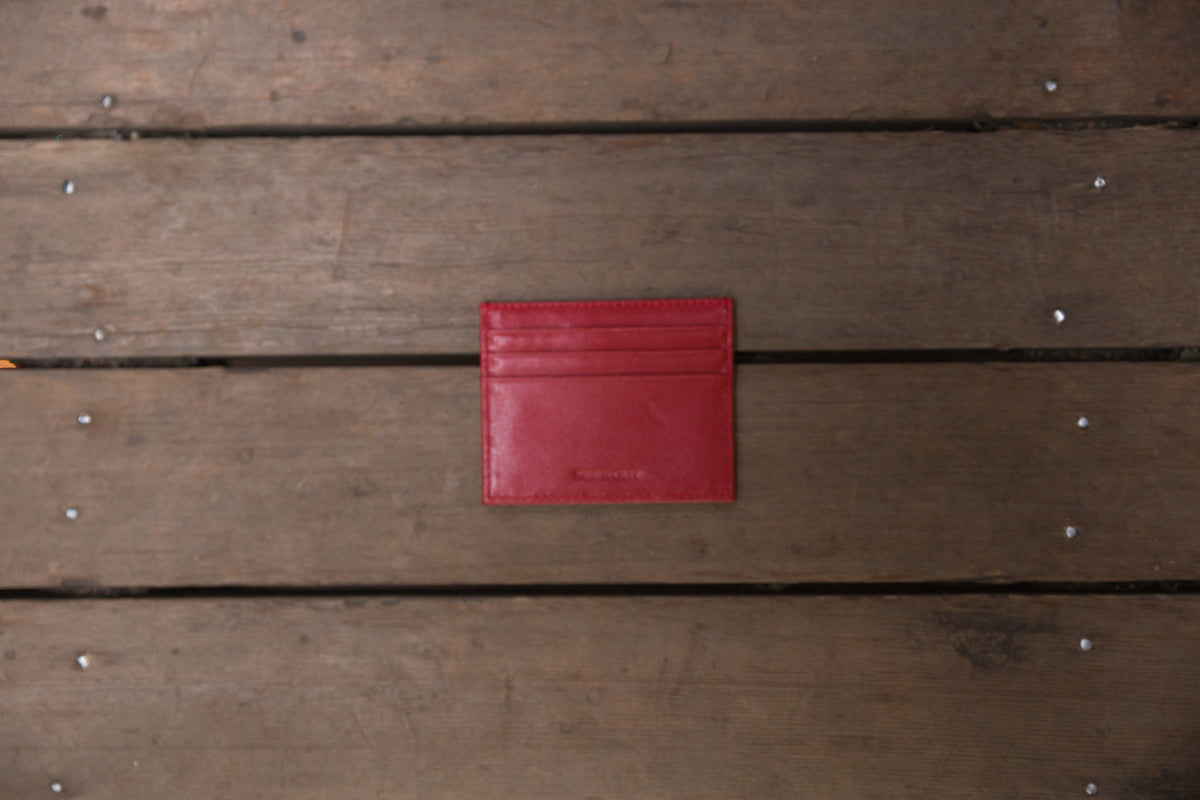 The Crown Collection Red Card Holder