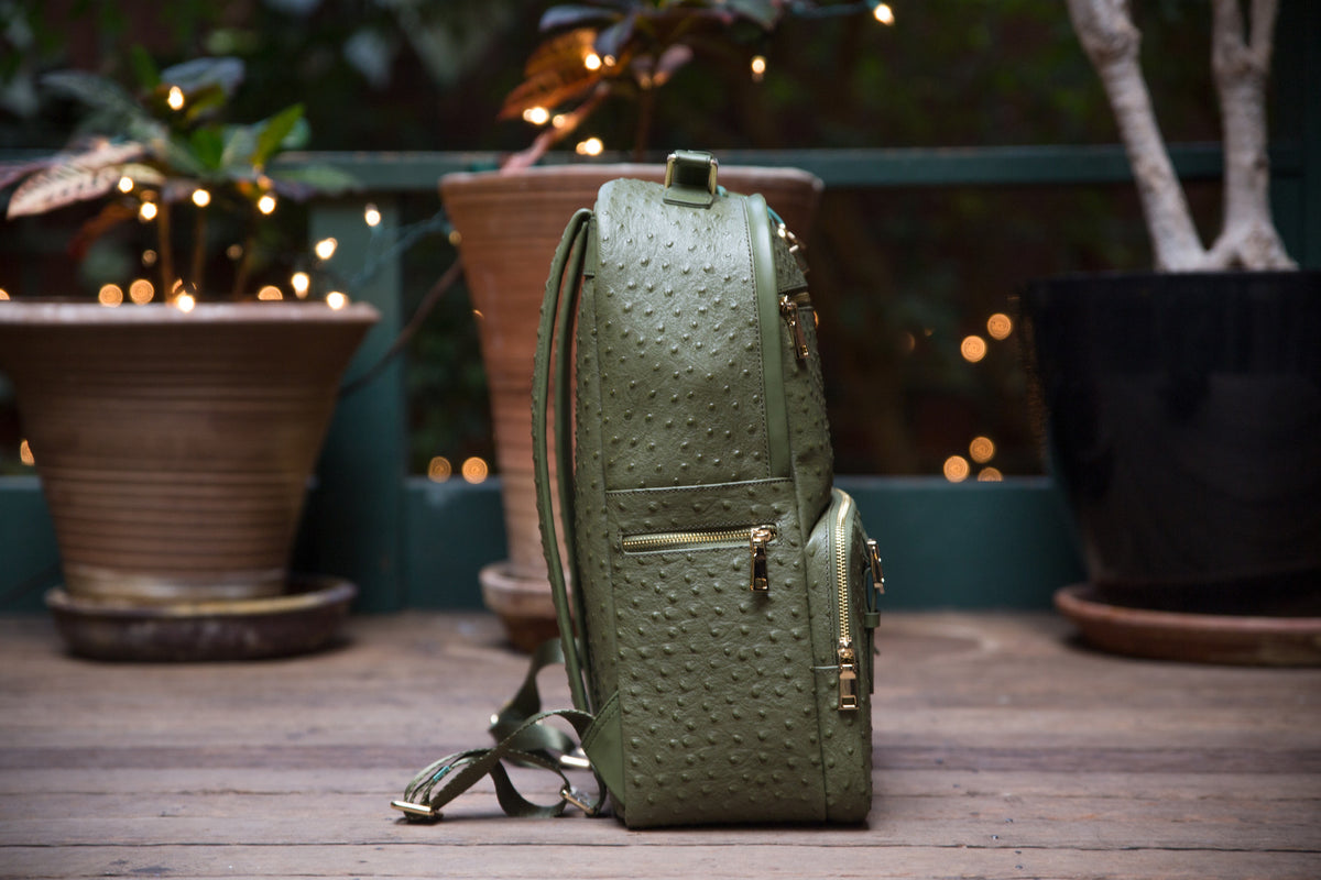 The Crown Collection (Large) Olive Backpack