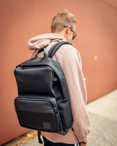 The Lifestyle Collection Backpack (Black/Black)