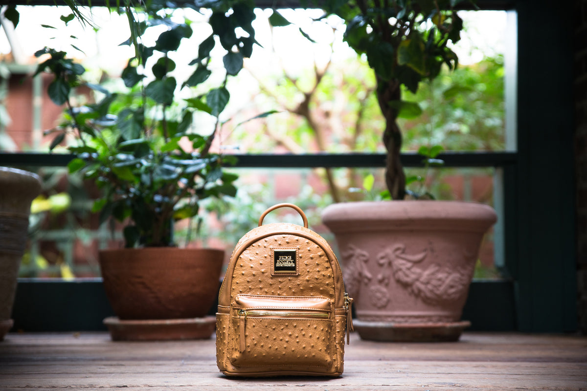 The Crown Collection (Mini) Truffle Backpack