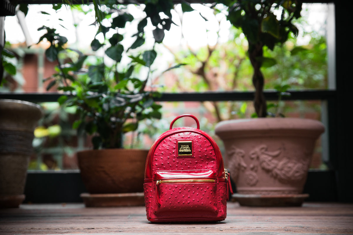 The Crown Collection (Mini) Red Backpack