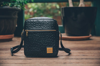 Crossbody Bag Black (Large)