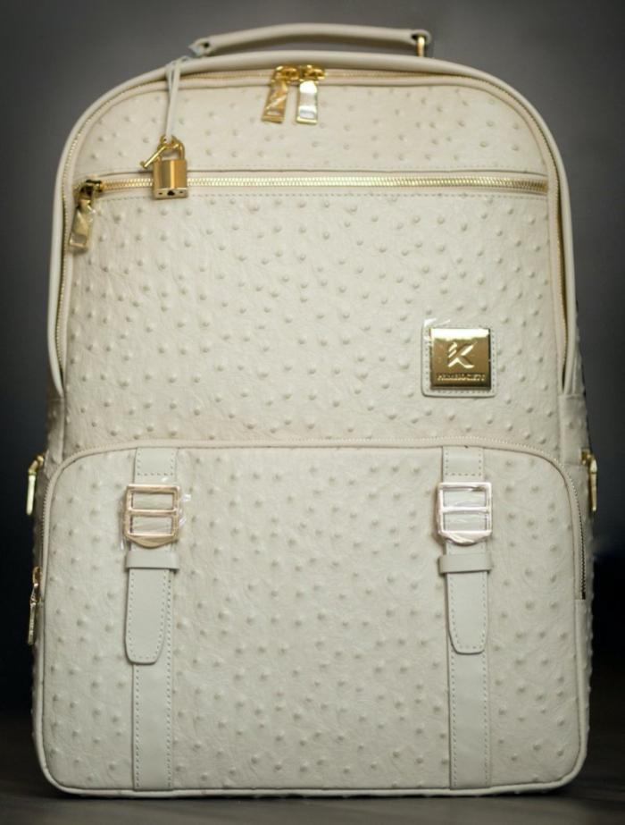 Cream Backpack (Championship Collection)