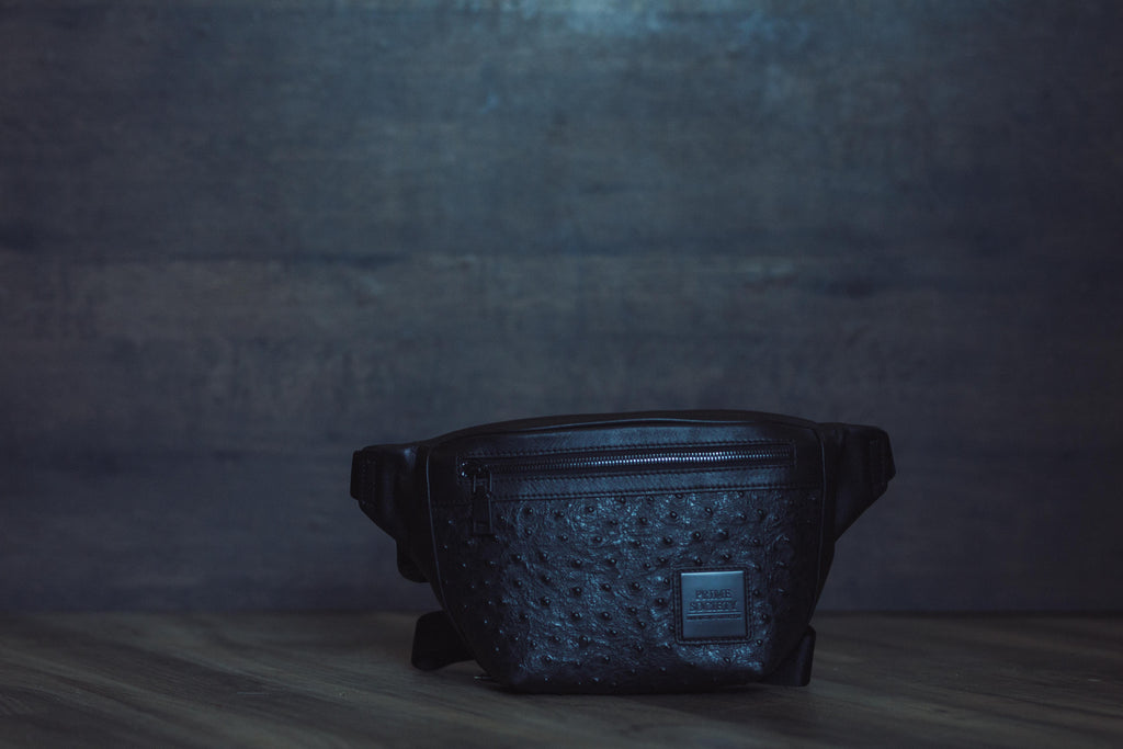 Fanny Pack Black on Black