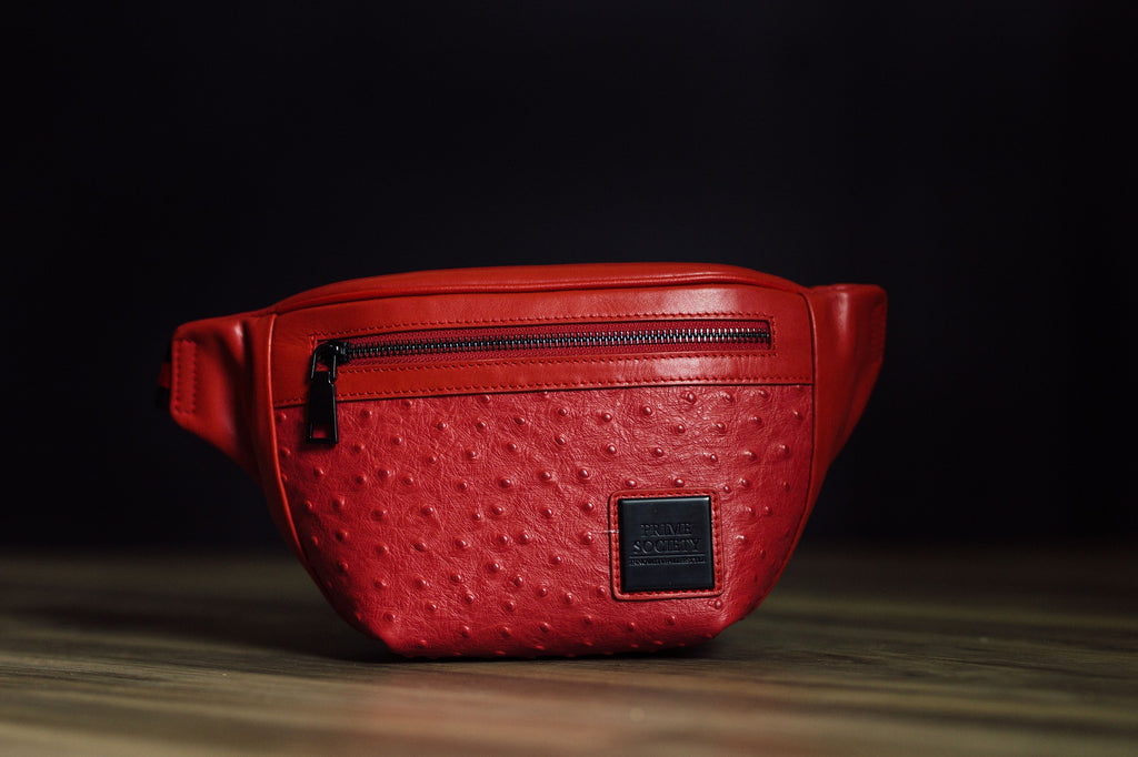 Fanny Pack Red/Black