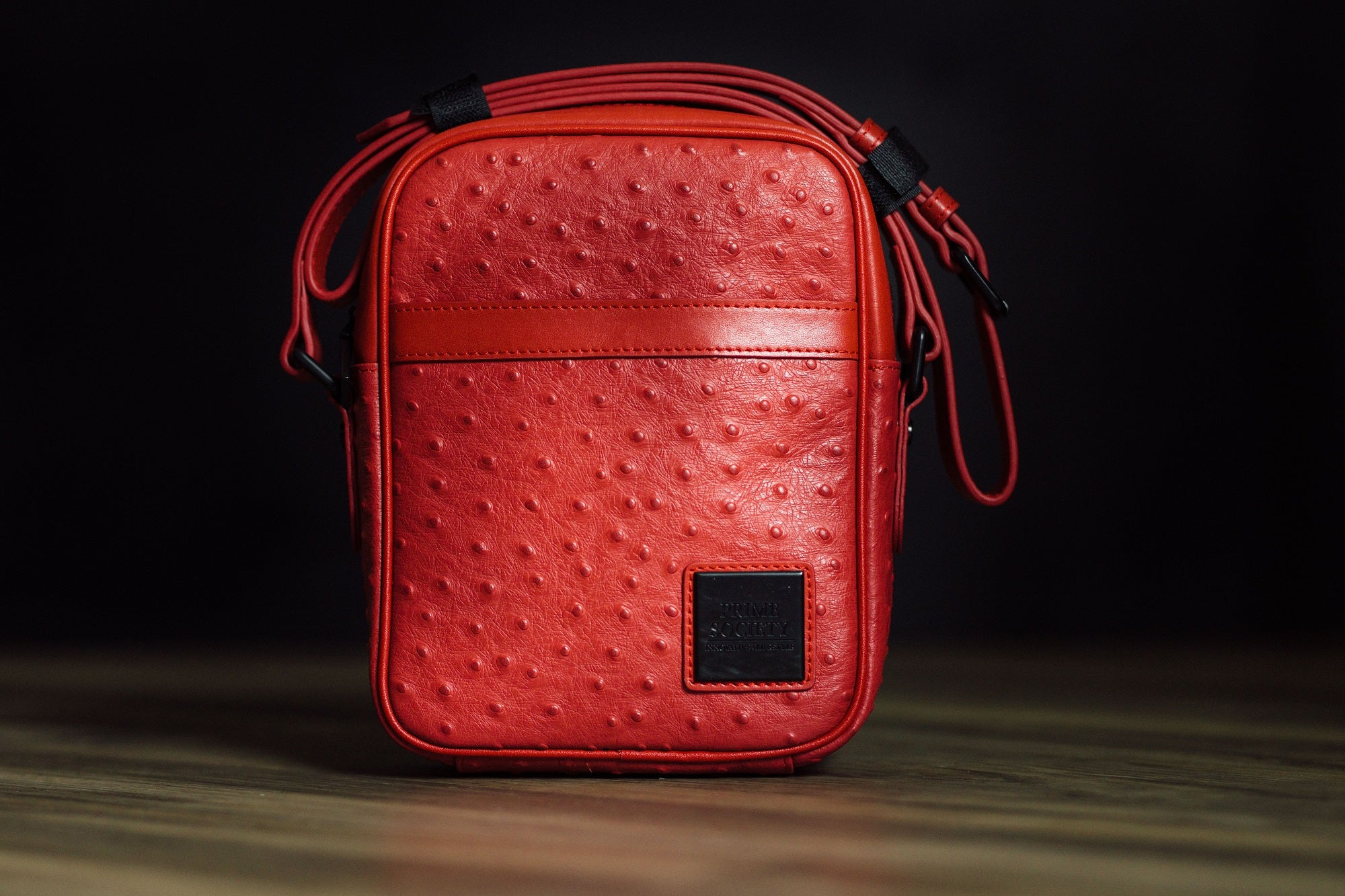 Crossbody Bag Red/Black (Small)