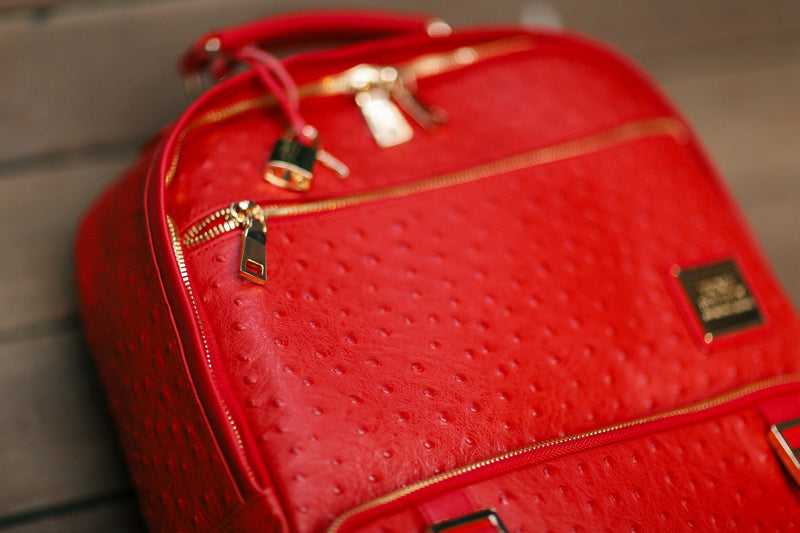 The Crown Collection (Large) Red Backpack