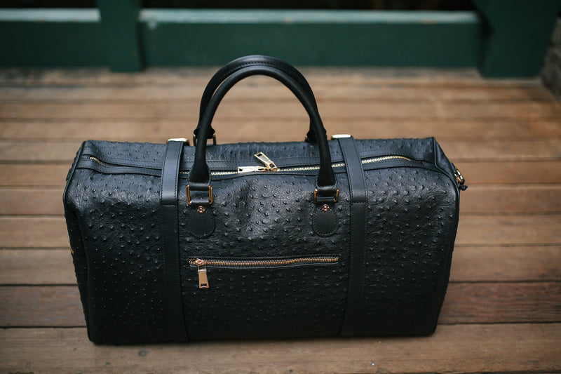 The Crown Collection Black Duffle