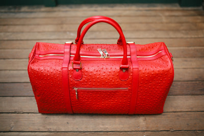 The Crown Collection Red Duffle