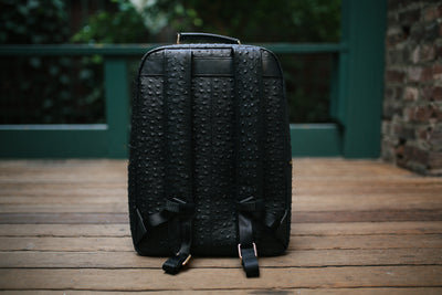The Crown Collection (Medium) Black Backpack