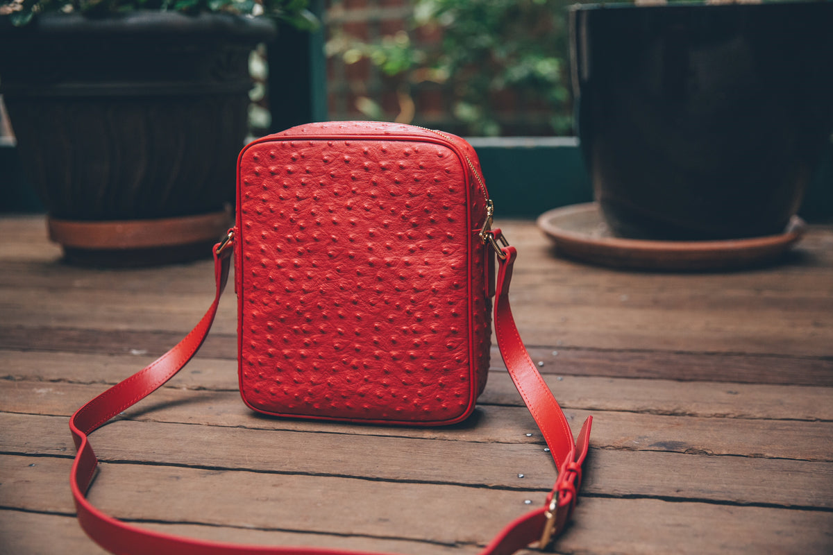 Crossbody Bag Red (Large)