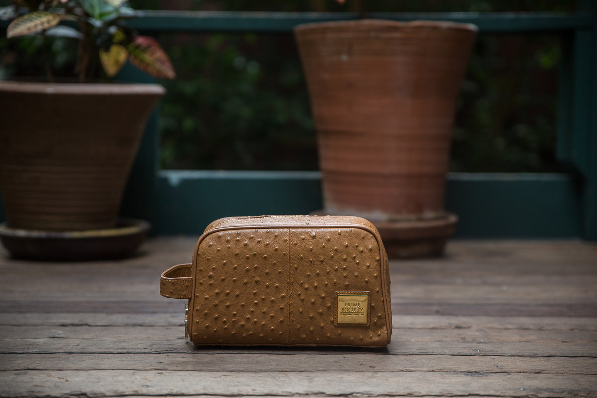 The Crown Collection Truffle Toiletry Bag