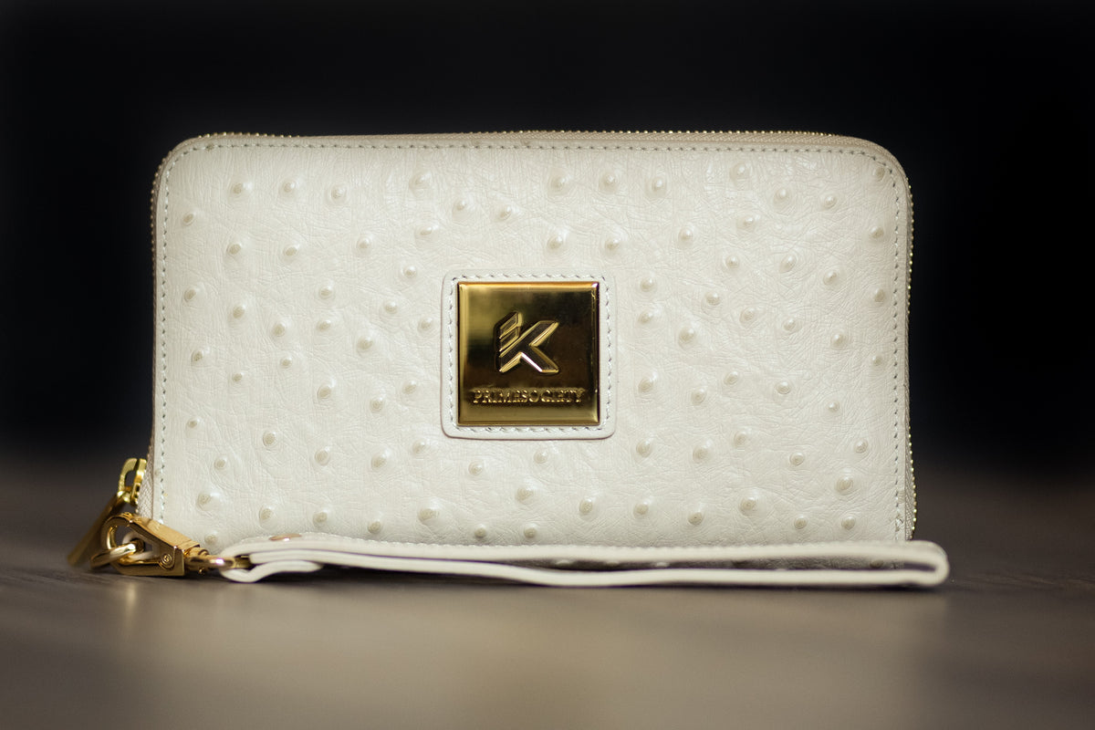 Cream Wristlet (Championship Collection)