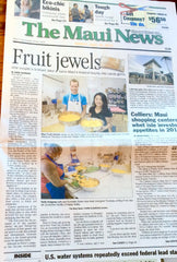 The Maui News front page 4-10-2016