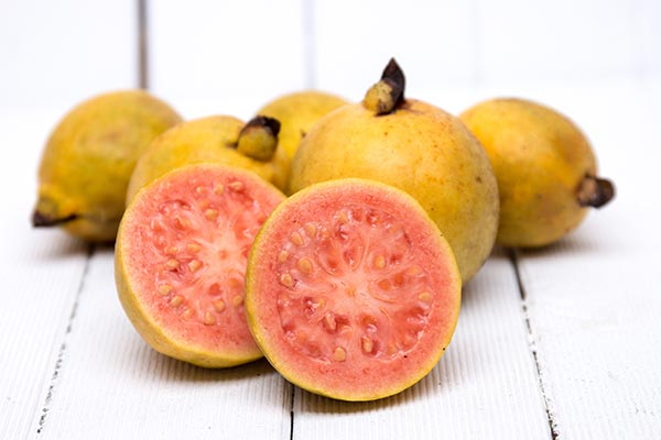 Fresh guava from the island of Maui