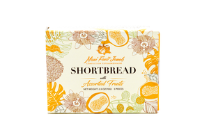 5-Piece Shortbread with Hawaii Fruits (5 Flavors)