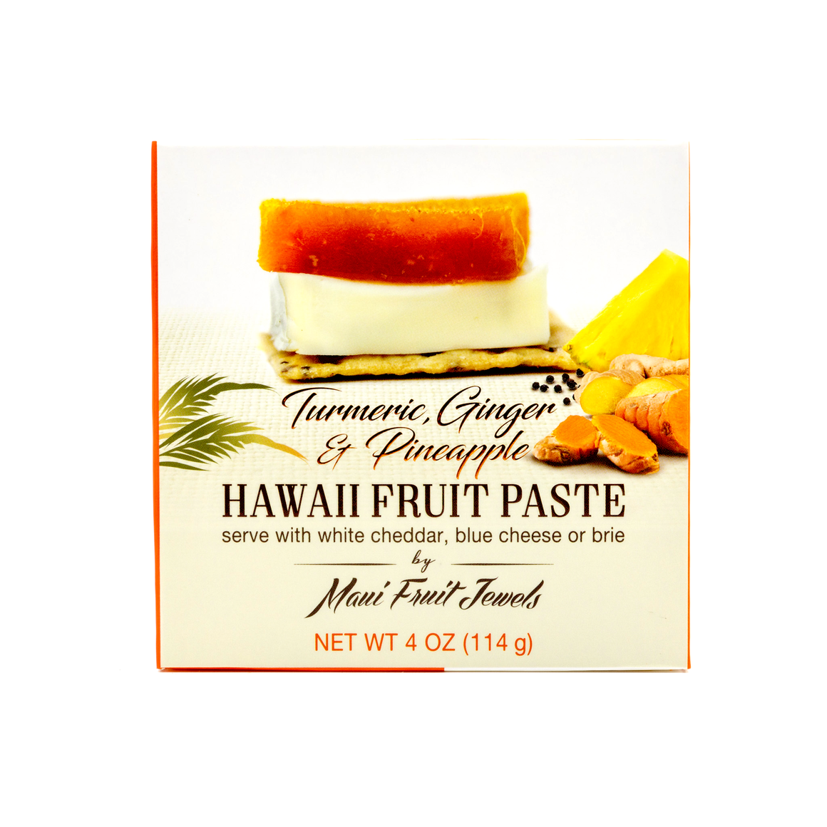 Turmeric Ginger Pineapple Hawaii Fruit Paste