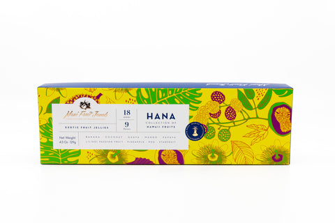 Assorted Fruit Jellies - Hana Collection (6-9 Flavors)