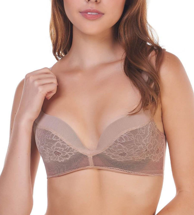 Airy Blossom Wired Push Up Bra - SMOOTH SKIN