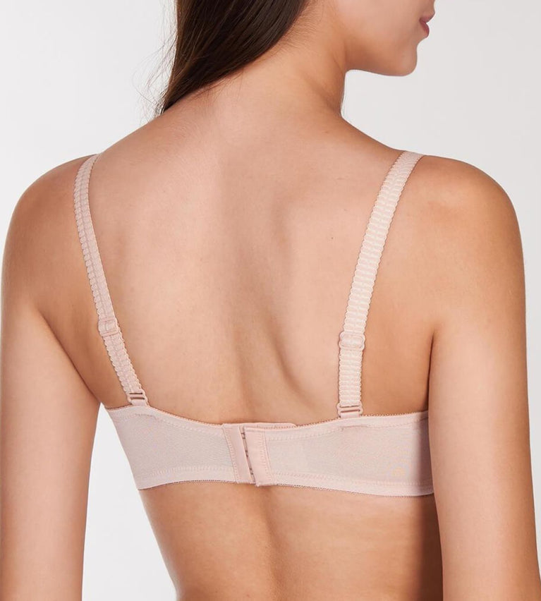 Aqua Flora Non-Wired Push Up Bra And Cleavage On Demand - SKIN - LIGHT COMBINATION