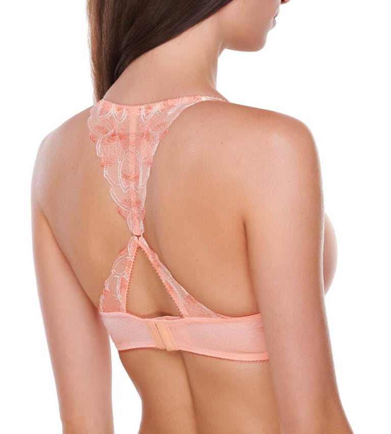 Aqua Lily Wired Push Up Bra - ANGEL DELIGHT