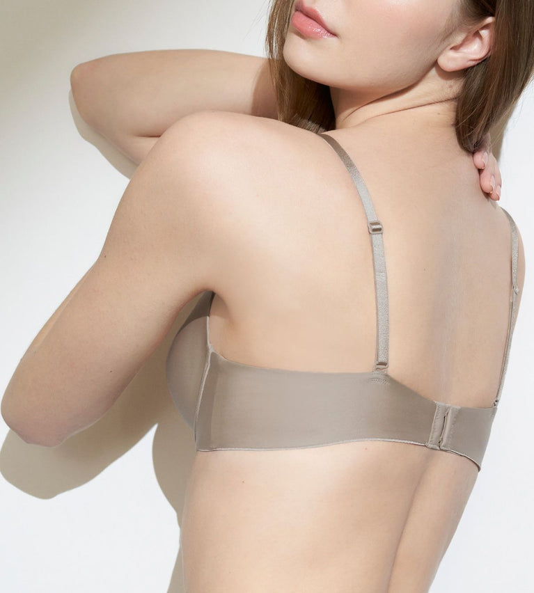 Body Make Up T-shirt Bra - COFFEE SUGAR